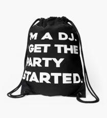 Avicii famous quote, Dance Music King, RIP Avicii Drawstring Bag