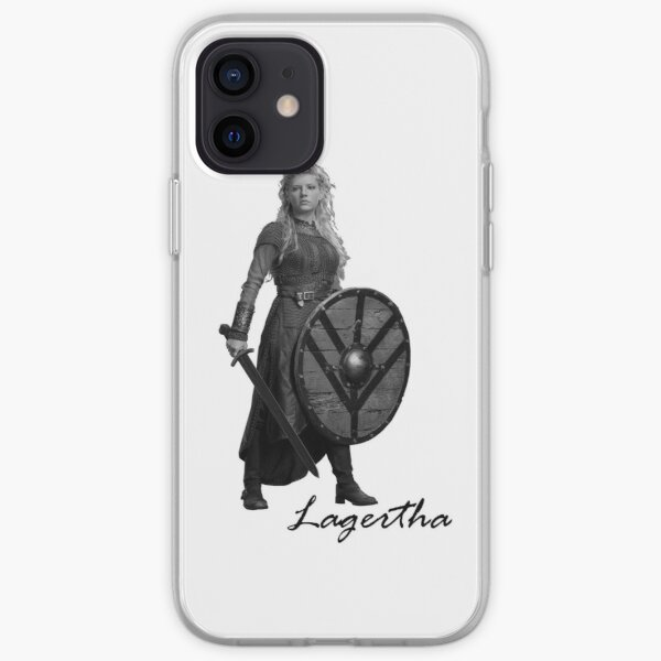 Lagertha - Vikingos Funda blanda para iPhone