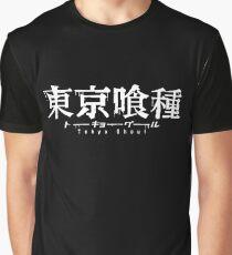 Camiseta gráfica Logotipo de Tokyo Ghoul