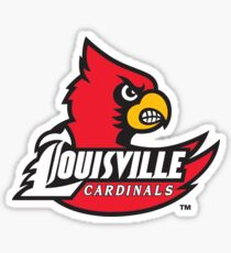 university of louisville logo Sticker