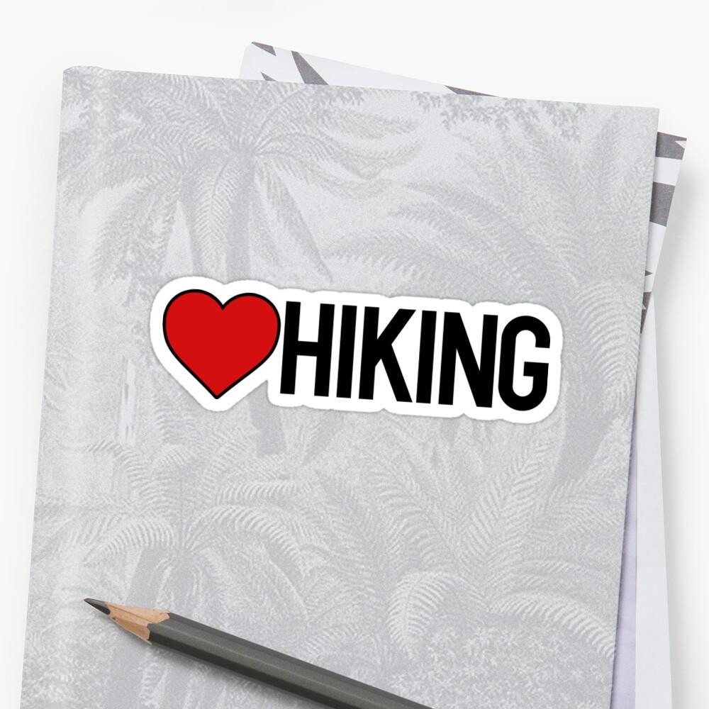 Love Hiking - Camper Hiker by RoadRescuer