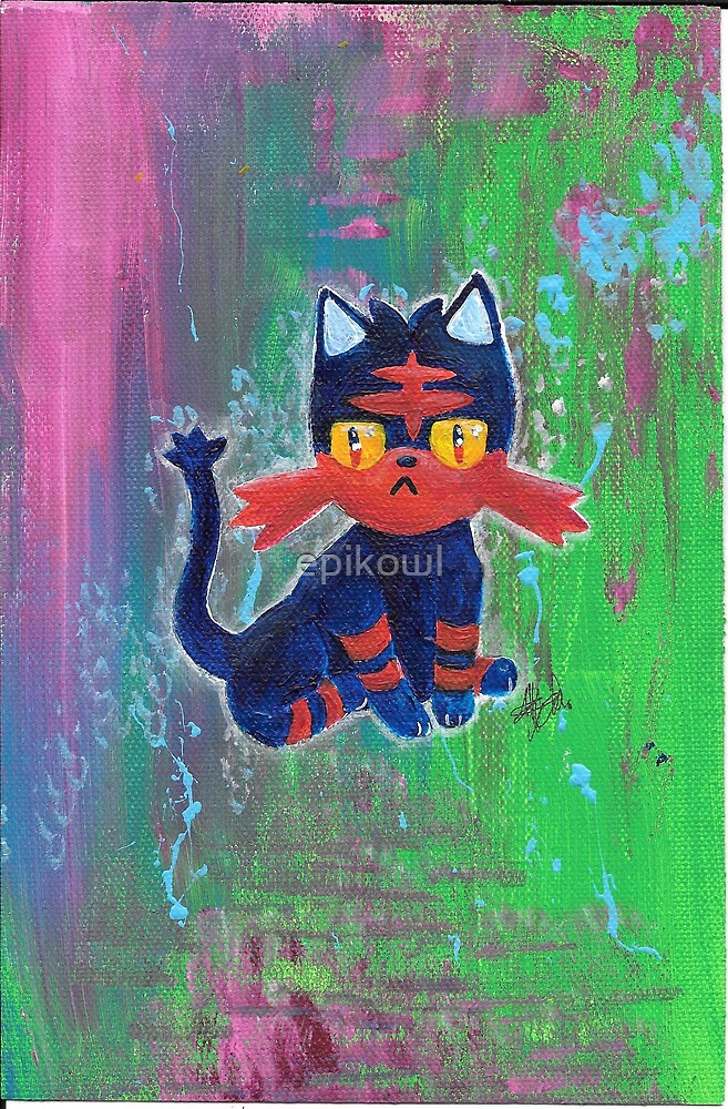 Sparks the Litten by epikowl