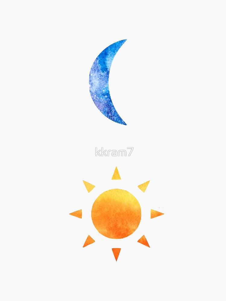 Sun and Moon by kkram7