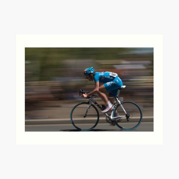 Cycling - Tour Down Under  Art Print