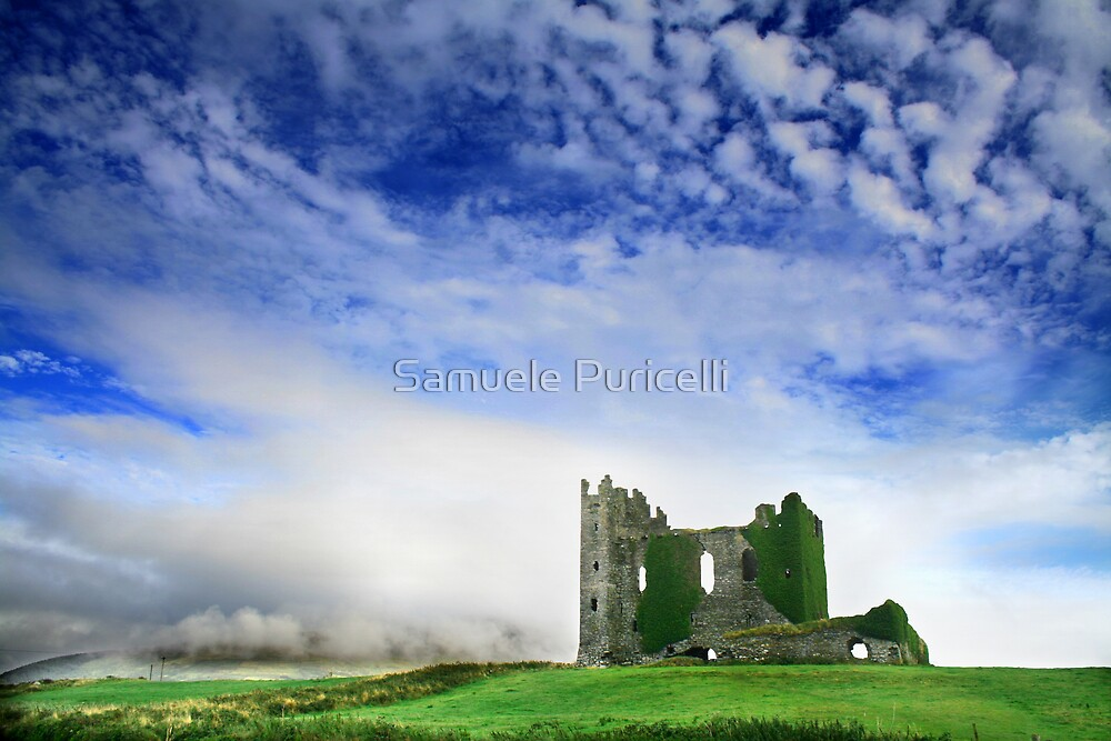 Irish castle by Samuele Puricelli