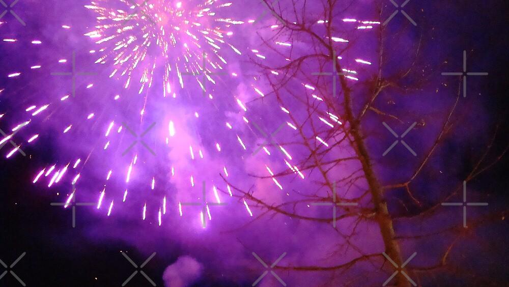Purple fireworks......Corfu by fruitcake