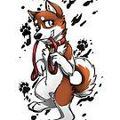 Leash Trained - Brown Husky by AylaStarDragon