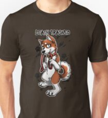 Leash Trained - Brown Husky T-Shirt