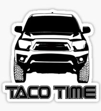 Taco Time- Toyota Tacoma 2nd Gen Sticker