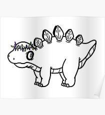 Doodle Dino Poster