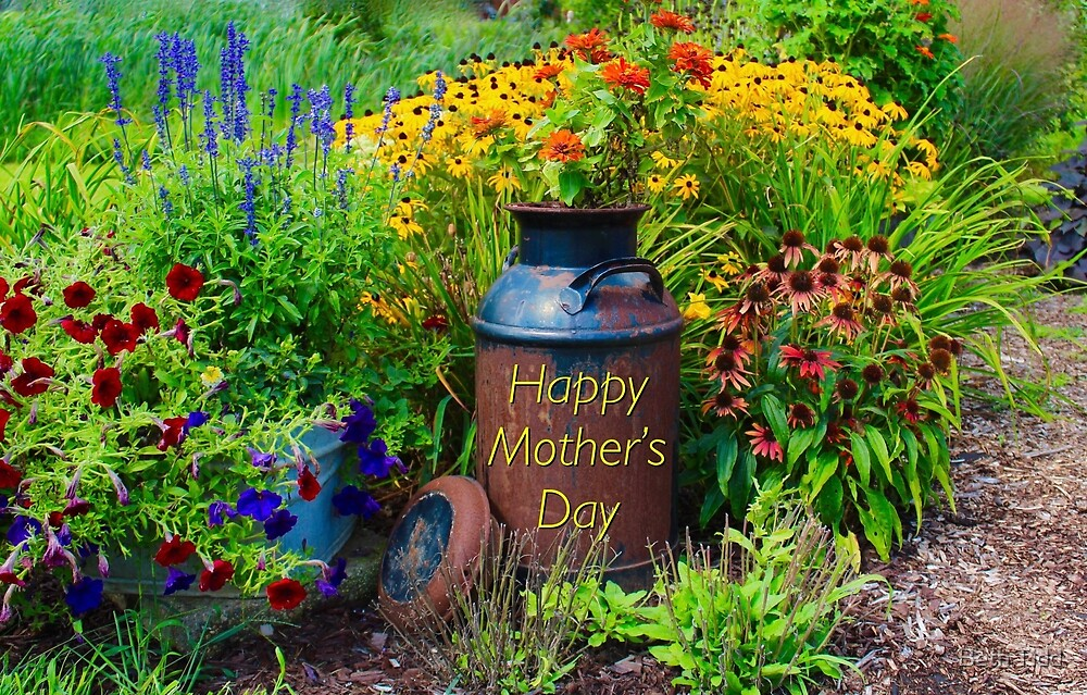 Happy mother's day garden by Beth Tidd