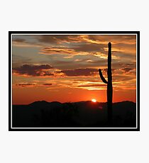Arizona Sunrise Photographic Print