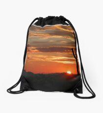 Arizona Sunrise Drawstring Bag