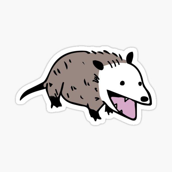 Possum doodle Sticker
