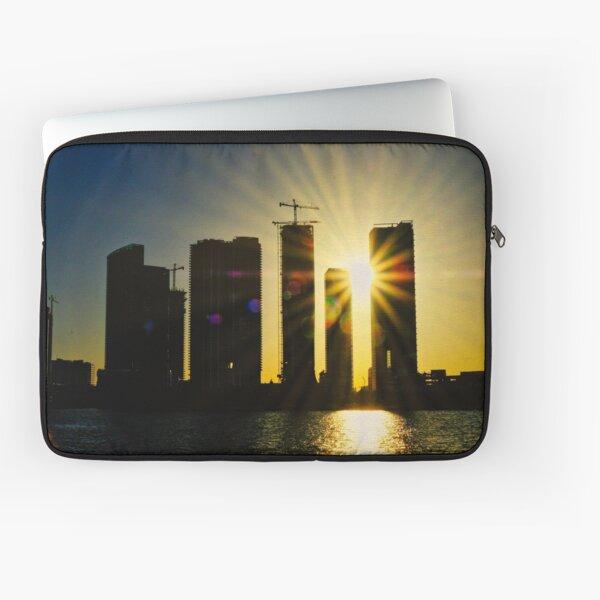 Sunset over Miami Laptop Sleeve