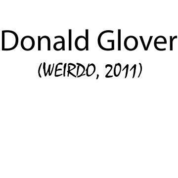 Donald Glover by JenniferM98