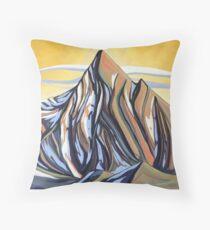 Mount Loki Evening Throw Pillow