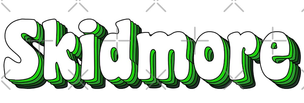 Skidmore Retro Lettering by sflissler