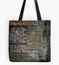 Streets of Abandonment Tote Bag