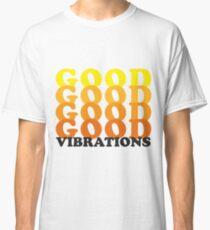 Gute Vibrationen - Retro Classic T-Shirt