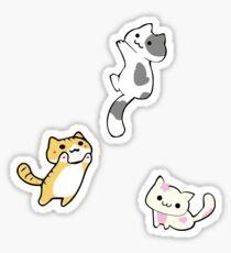 Mini Neko's (kittens) Sticker
