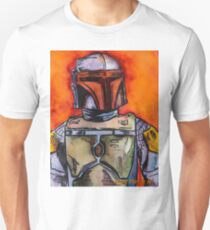 Original Bounty Hunter Action Figure Unisex T-Shirt