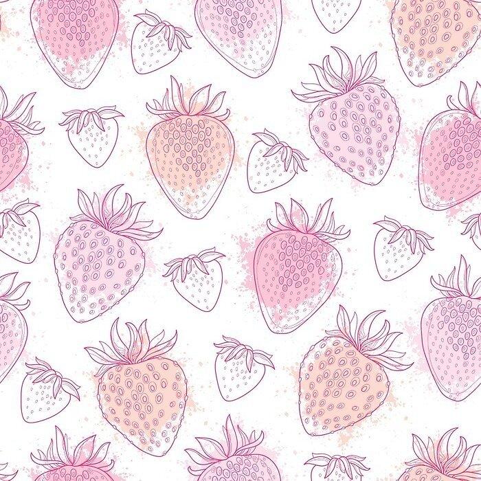 Kawaii Strawberry Pastel by Night0Mix