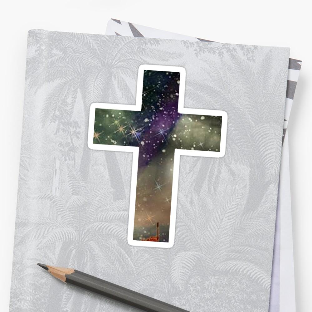 Starry Cross by Olivia Farmer