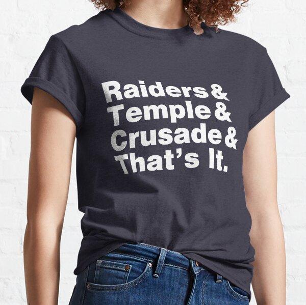 Helvetica Indiana Jones Classic T-Shirt