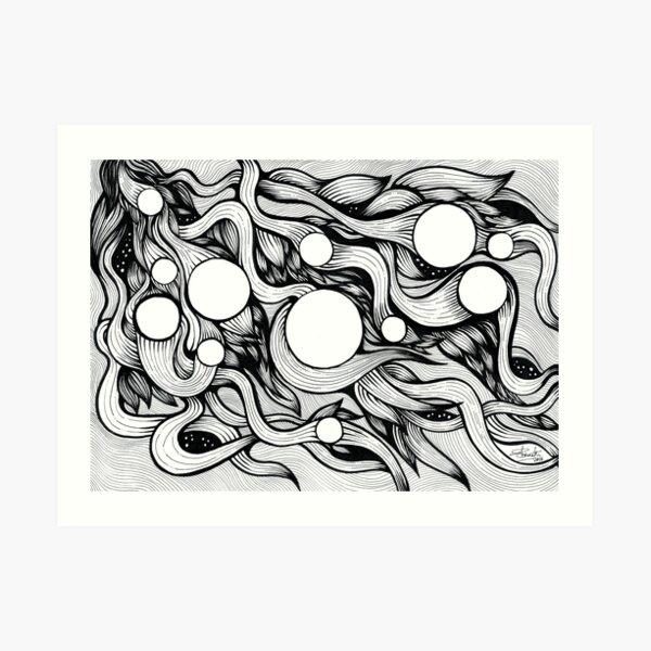 Lacunae II Art Print