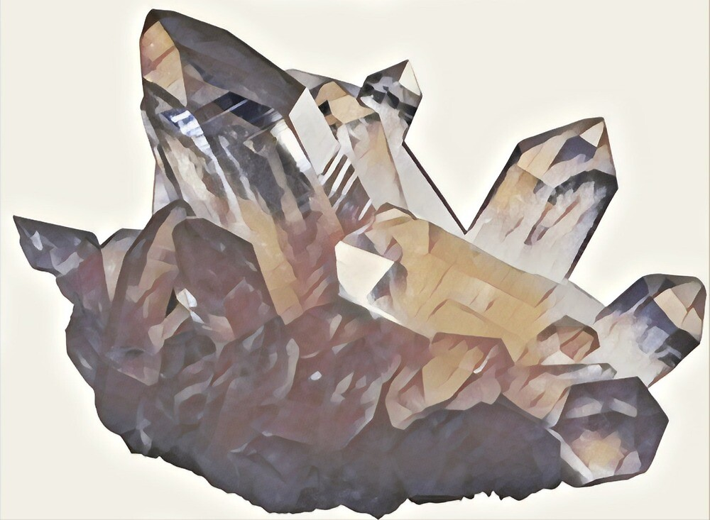 Crystal Cluster by Katbull09