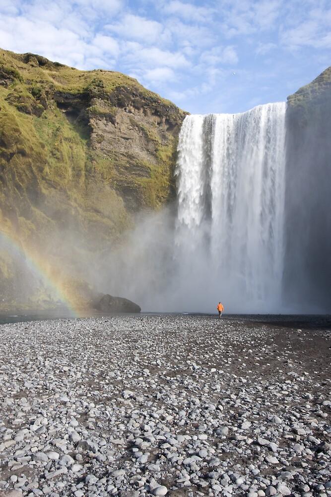 Skógafoss (Iceland) by Phil Bain