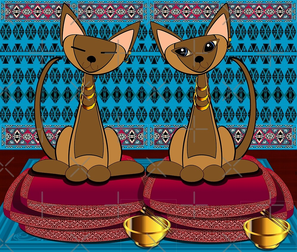 Siamese twins by Karen Lincoln