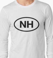 New Hampshire - NH Pride Born Long Sleeve T-Shirt