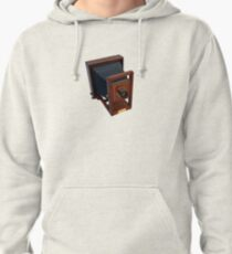 Vintage 19th Century Wooden Camera Pullover Hoodie
