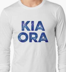 Kia Ora NZ Gift For Beach Vacation Long Sleeve T-Shirt