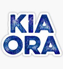 Kia Ora NZ Gift For Beach Vacation Sticker