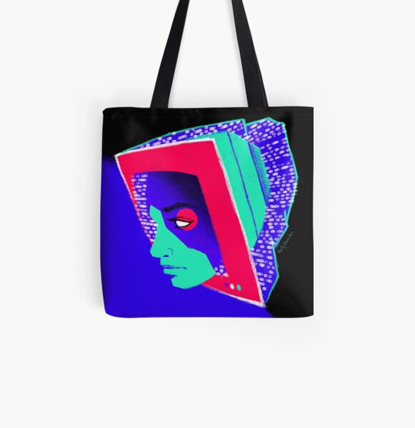 Blue Screen of Death All Over Print Tote Bag