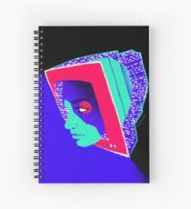 Blue Screen of Death Spiral Notebook