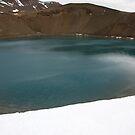 Krafla Crater by Phil Bain