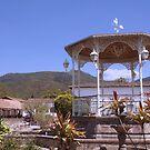 San Sebastian Del Oeste Town Square by Allen Lucas