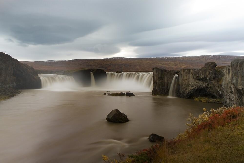 Goðafoss by Phil Bain
