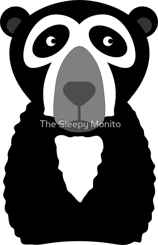 Spectacled bear by The Sleepy Monito