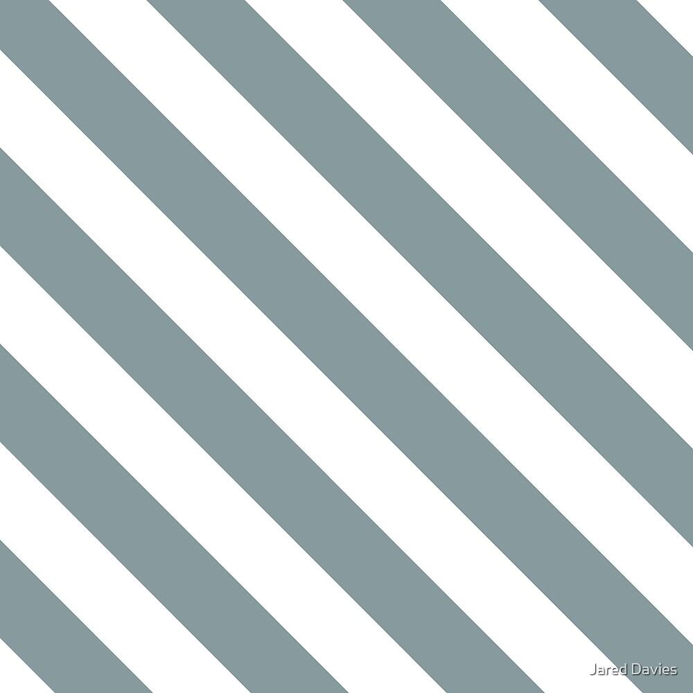 Diagonal Stripes: Light Blue by MilitaryCandA