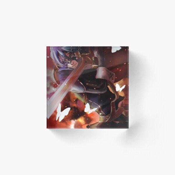 Warrior from a Doomed Future Acrylic Block