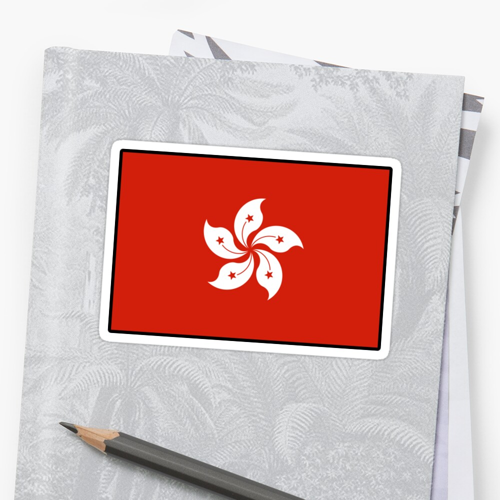 Hong Kong Flag For Chinese Pride by ShieldApparel