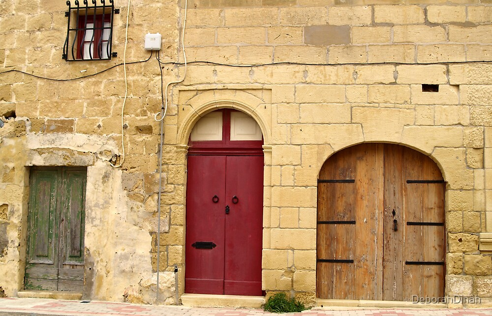 Three doors by DeborahDinah