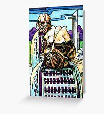 Weetabix Doctor Who 1977 Styggron Greeting Card