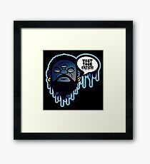 Test Your Fate Framed Print