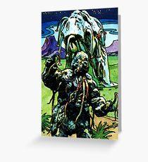 Weetabix Doctor Who 1977 Krynoid Greeting Card